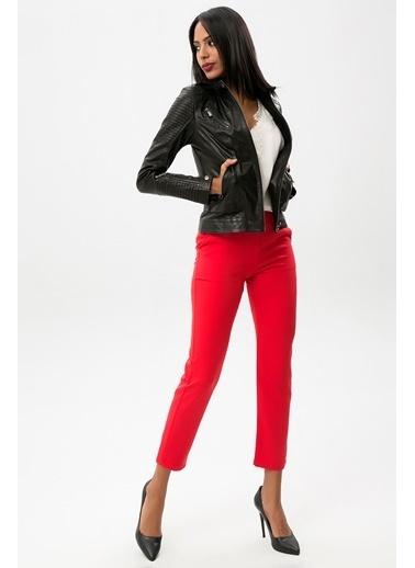 New Laviva Pantolon Kırmızı